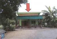 บ้านเดี่ยวหลุดจำนอง ธ.ธนาคารอาคารสงเคราะห์ สระลงเรือ ห้วยกระเจา กาญจนบุรี